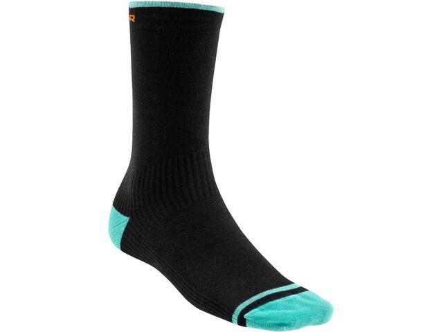 Mondraker Racing High Socks Men black/orange/mint